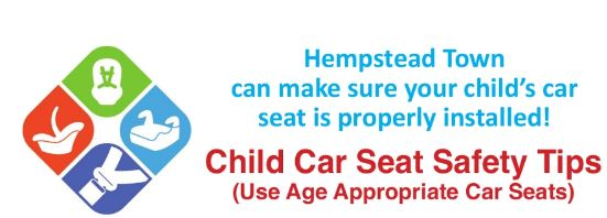 Child Car Safety Tips by the Town of Hempstead